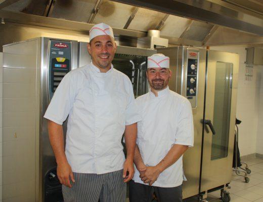 Jérôme Vaudray et Romuald Durand