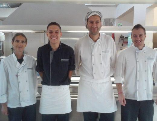 Nelly Fartant, Rémi Félices, Lionel Senpau, Christopher Guizard
