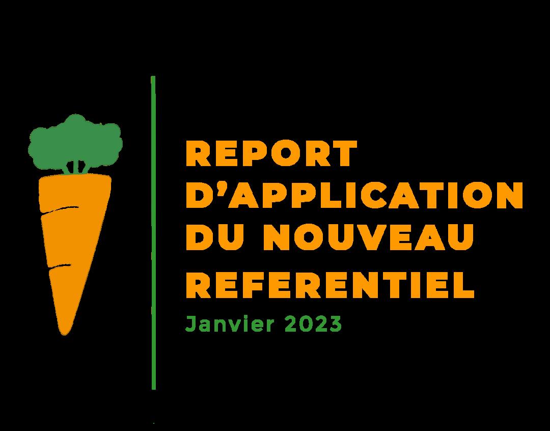 Report du nouveau référentiel Ecocert
